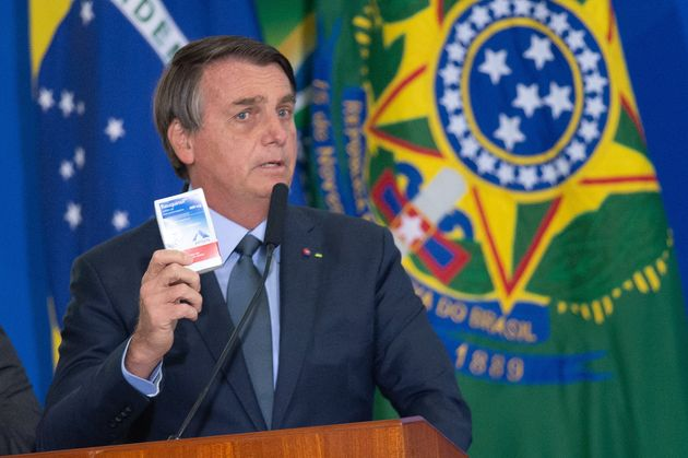 Na ONU, Bolsonaro voltou a defender o uso da cloroquina, que não tem eficácia comprovada...