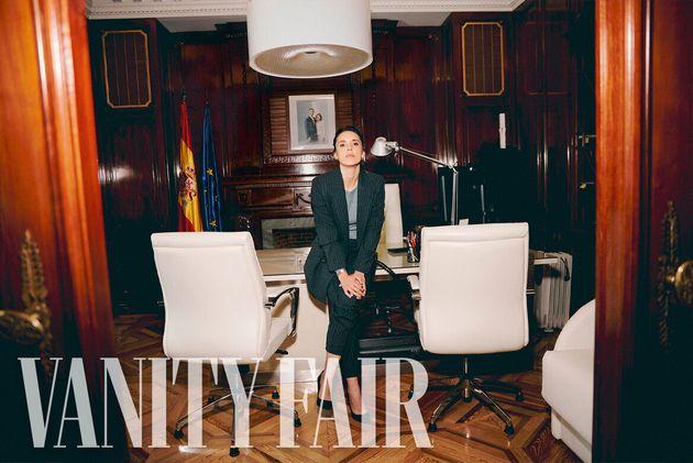 Irene Montero posa para 'Vanity