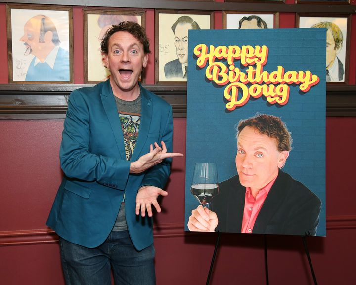 """Drew Droege stars in """"Happy Birthday Doug,"""" whichpremieres on the streaming service BroadwayHD this week."""