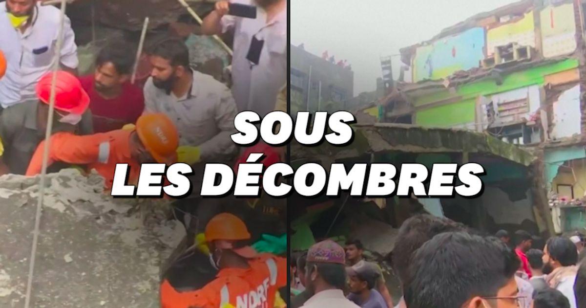 Au moins 26 morts dans l'effondrement d'un immeuble en Inde