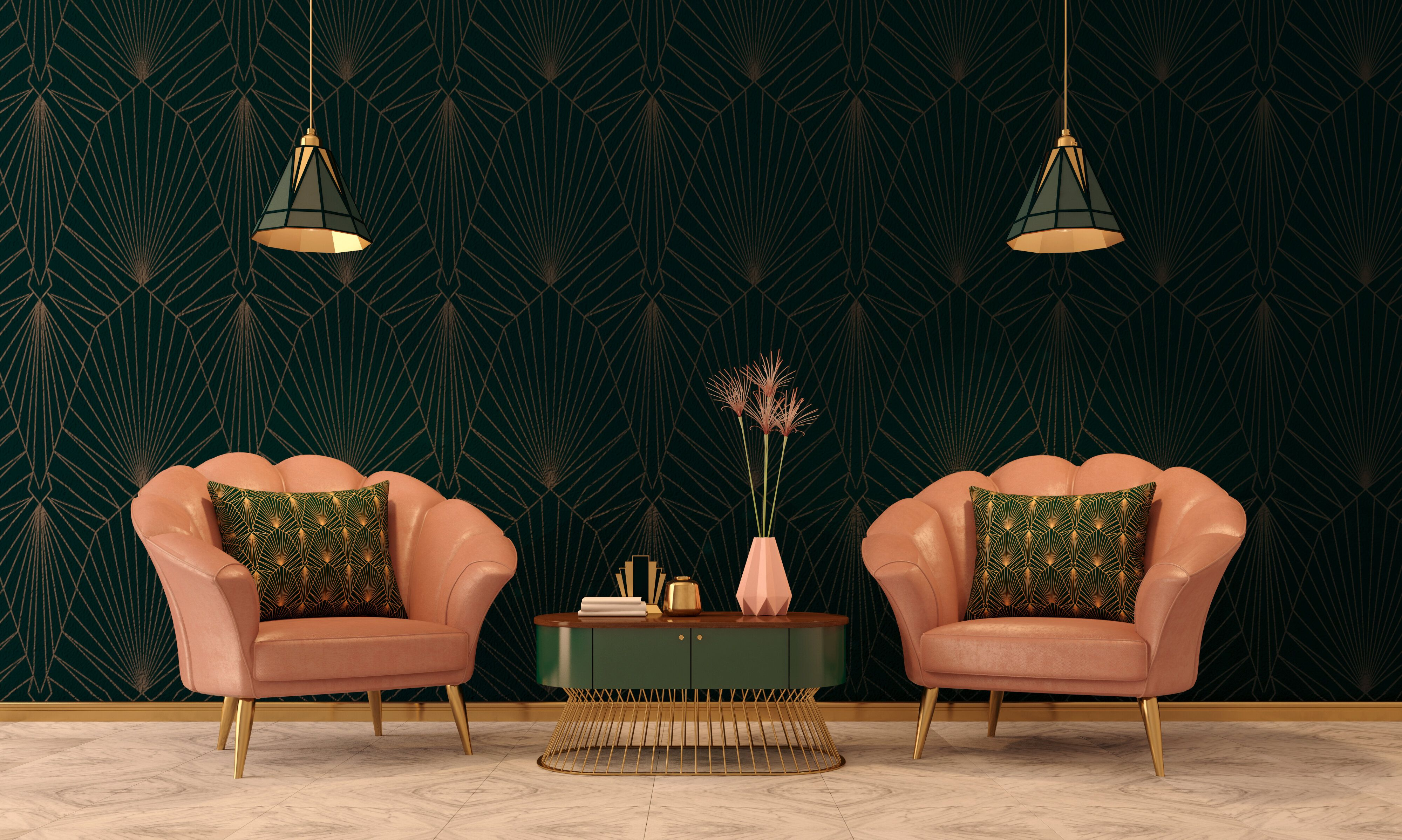 Where To Buy Art Deco-Inspired Furniture And Decor Online On A Budget