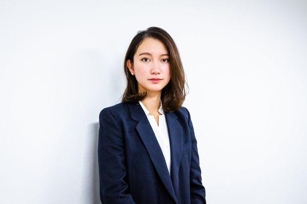 ジャーナリストの伊藤詩織さん(2019年12月撮影)