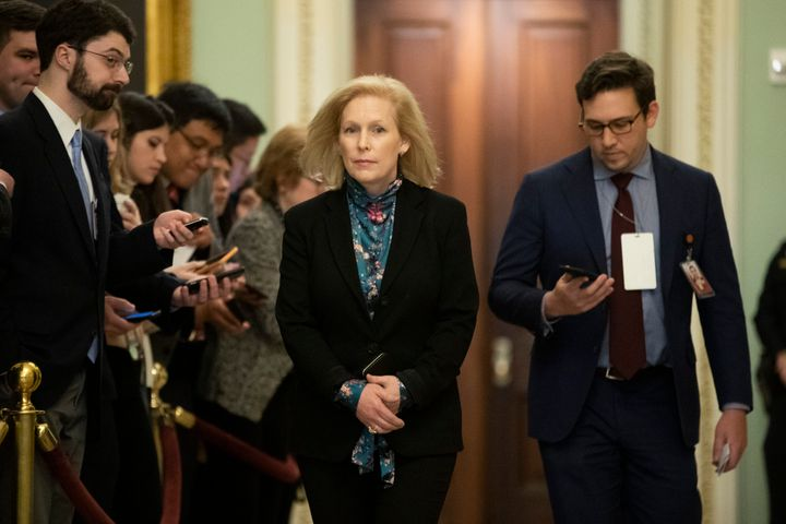 Sen. Kirsten Gillibrand wants to amend a law she authored eight years ago to include disclosure requirements on federal subsi