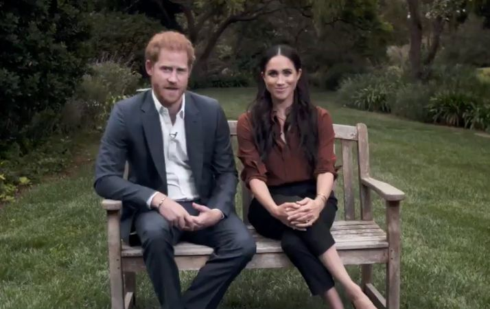 Prince Harry and Meghan Markle talk about the importance of voting in the TIME100 special.