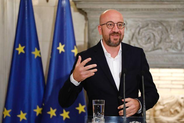Charles Michel, presidente del Consejo Europeo (Consejo Europeo/ Handout/Anadolu Agency via Getty