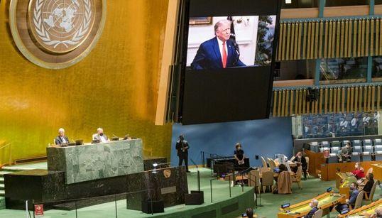 """Trump pide a la ONU que haga a China """"rendir cuentas"""" por """"infectar al mundo"""" con el"""