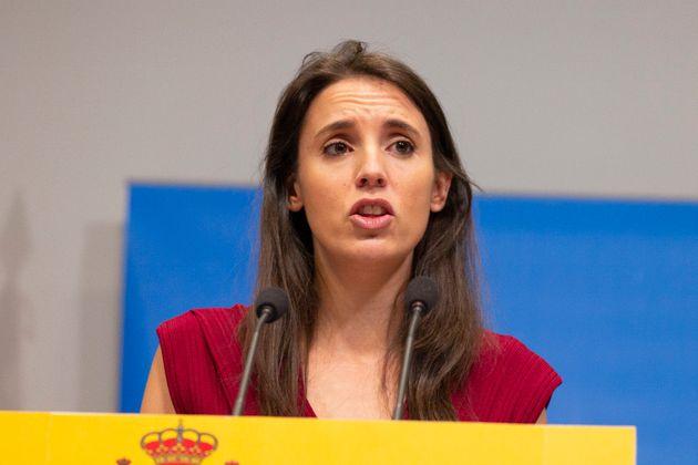 La ministra de Igualdad, Irene Montero, el 30 de julio de 2020 (Oscar Gonzalez/NurPhoto via Getty