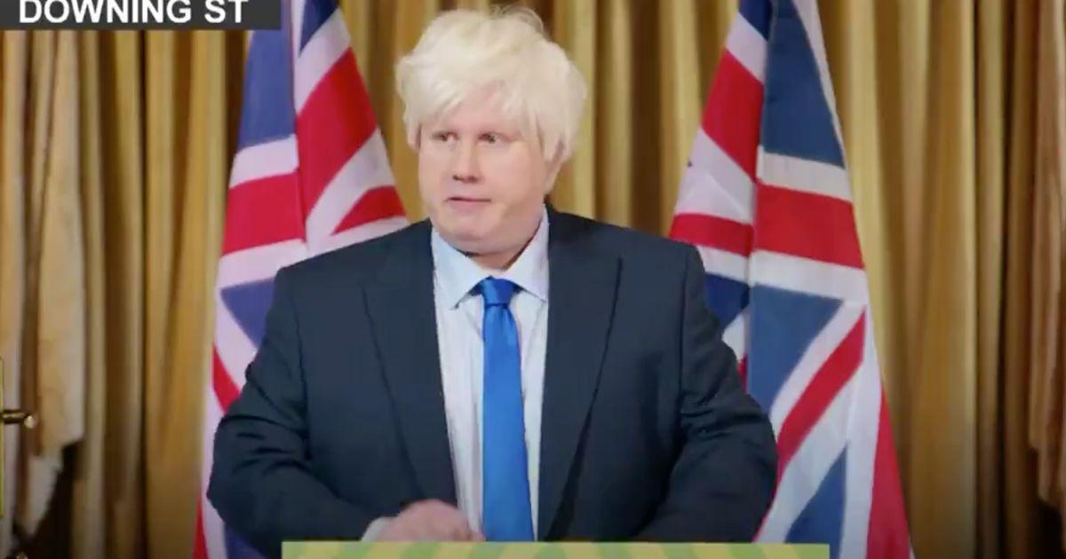Matt Lucas Hilariously Mocks Boris Johnson In Great British Bake Off Debut