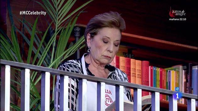 Celia Villalobos en 'MasterChef