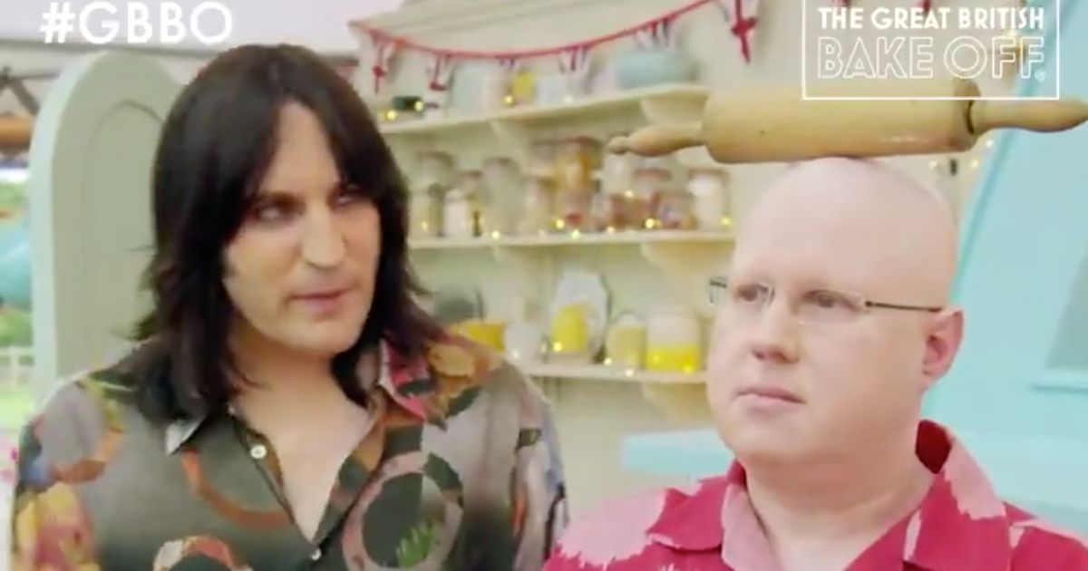 Matt Lucas' Bake Off Debut Was Deliciously Silly