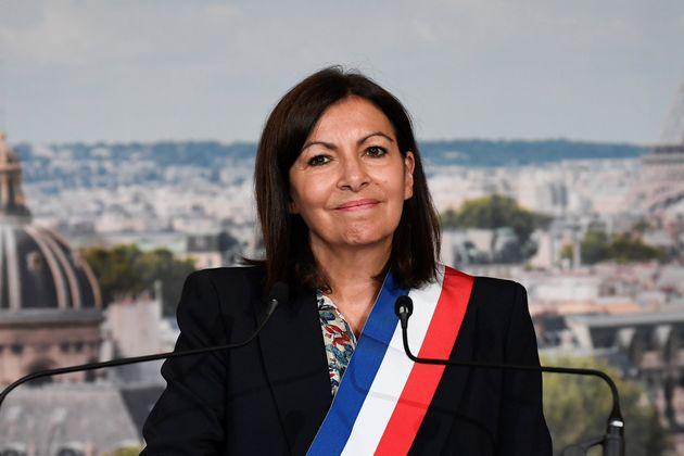 Anne Hidalgo photographiée lors du Conseil de Paris du 3 juillet à l'Hôtel de Ville