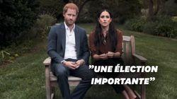 Le Prince Harry et Meghan Markle appellent à voter pour