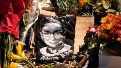 Mourners Honor Ginsburg At Supreme