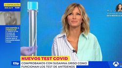 """El mal rato de Susanna Griso por lo que le hicieron en 'Espejo Público': """"Creo que me está llorando el"""