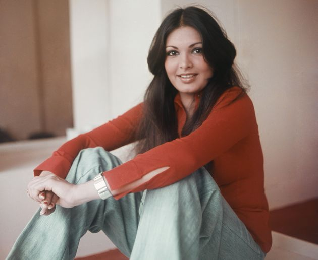 A 1978 photo of Parveen Babi.Babi, who died in 2005, appeared in some of the most iconic movies...