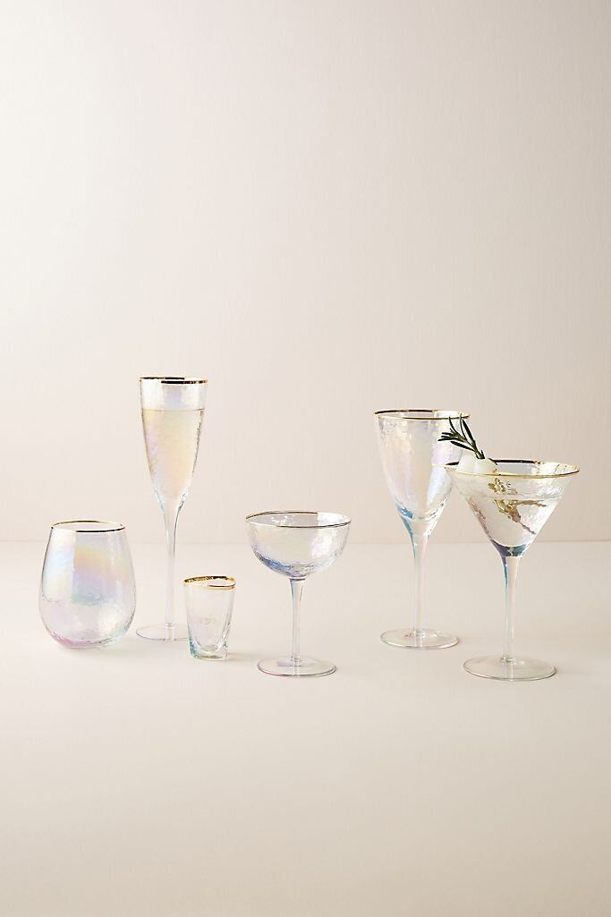 Gorgeous Vintage Inspired Glassware To Level Up Happy Hour At Home Huffpost Life