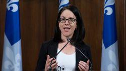 Sonia LeBel dépose la nouvelle mouture du défunt projet de loi