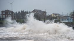 Teddy Pounds Nova Scotia With 100-Kilometre Winds And Heavy