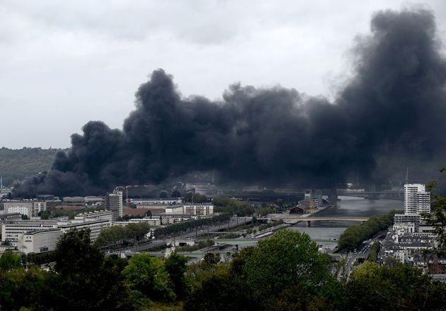 Un an après l'incendie de Lubrizol, où en est-on? (Photo: l'incendie de Lubirzol...