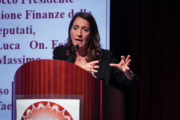 L'onorevole Carla Ruocco, movimento