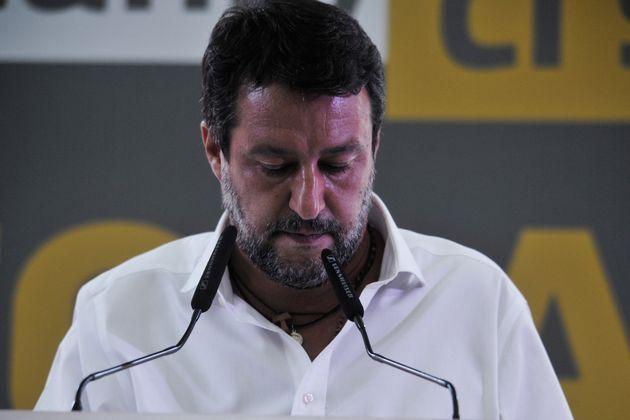 Salvini, un uomo meno solo al
