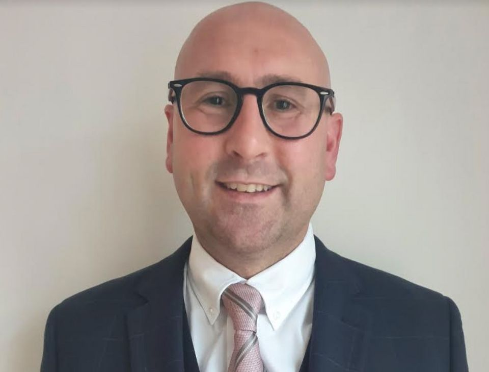 Chris Wardle, deputy head teacher at St George's Secondary School in
