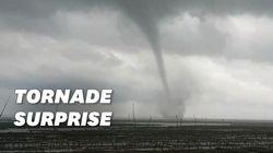 L'Île d'Oléron frappée par une tornade, des dégâts et trois blessés