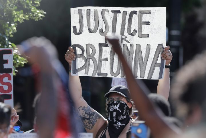 Breonna Taylor's killing at the hands of police in March sparked more than 100 nights of protests in Louisville as part of a