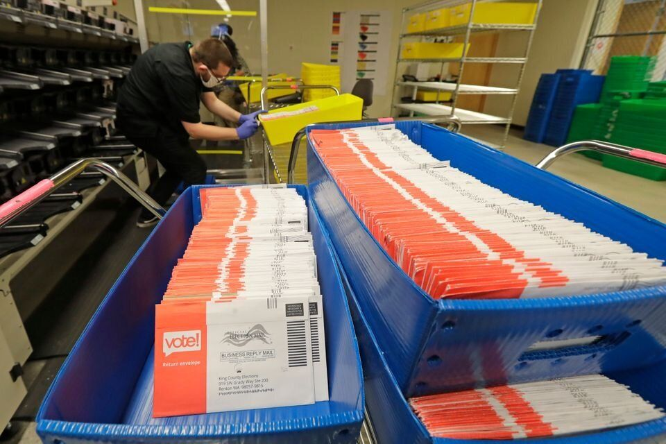 Espera-se uma votação recorde pelo correio este ano. Isso pode ser o prelúdio de uma crise
