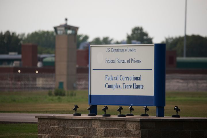 The federal government is scheduled to carry out its seventh execution since July at the Terre Haute prison on Thursday.