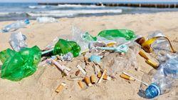 지난해 전 세계 해변에서 가장 많이 버린 쓰레기는