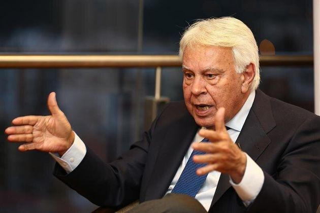 Felipe González, en una imagen del pasado marzo, en