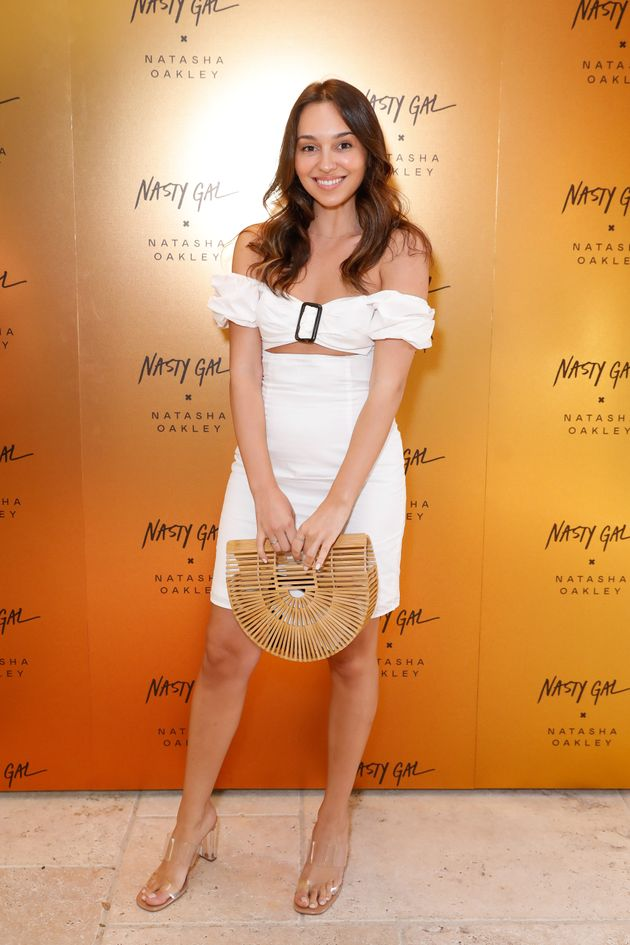 Bella Varelis attends the Nasty Gal x Natasha Oakley Launch Event on October 16, 2019 in Sydney,