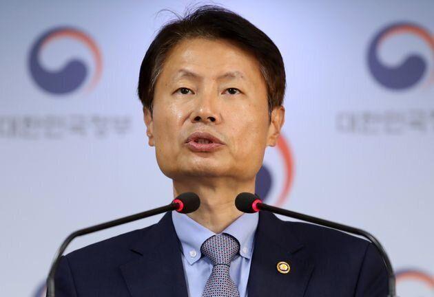 김강립 보건복지부 차관이 8월 31일 서울 세종대로 정부서울청사 브리핑룸에서 전공의단체 진료 거부 관련 브리핑를 하고