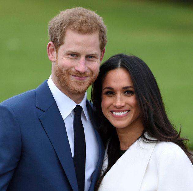El príncipe Harry y Meghan Markle, en una imagen de