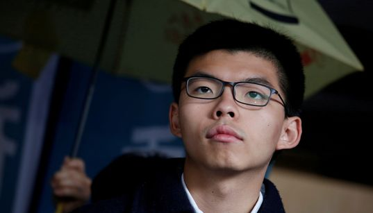 黄之鋒(ジョシュア・ウォン)さん逮捕。香港の民主活動家。無許可集会に参加の疑い