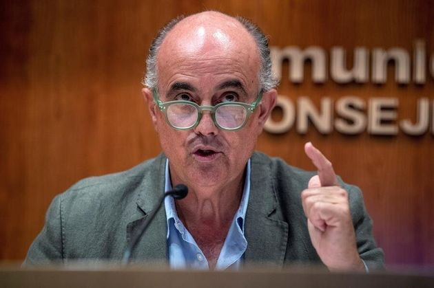 El viceconsejero de salud de la Comunidad de Madrid, Antonio