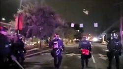 Dos policías heridos de bala en las protestas raciales de