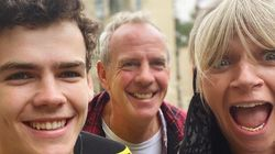 Zoe Ball And Norman Cook Reunite As They See Their Son Off To
