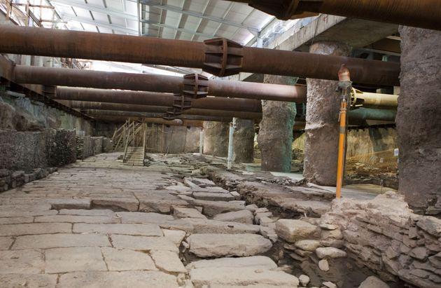 ΚΑΣ: «Ναι» στη μελέτη προσωρινής απόσπασης των αρχαιοτήτων στον σταθμό