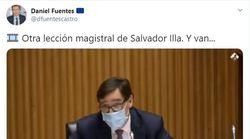 Salvador Illa vuelve a conquistar Twitter por estas palabras hacia Ana Pastor: