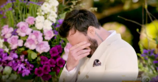 'The Bachelor Australia's Locky Gilbert struggled to make a decision during Thursday night's
