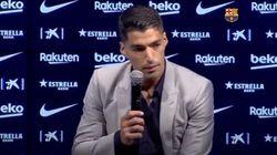 Luis Suárez se despide entre lágrimas del Barça: