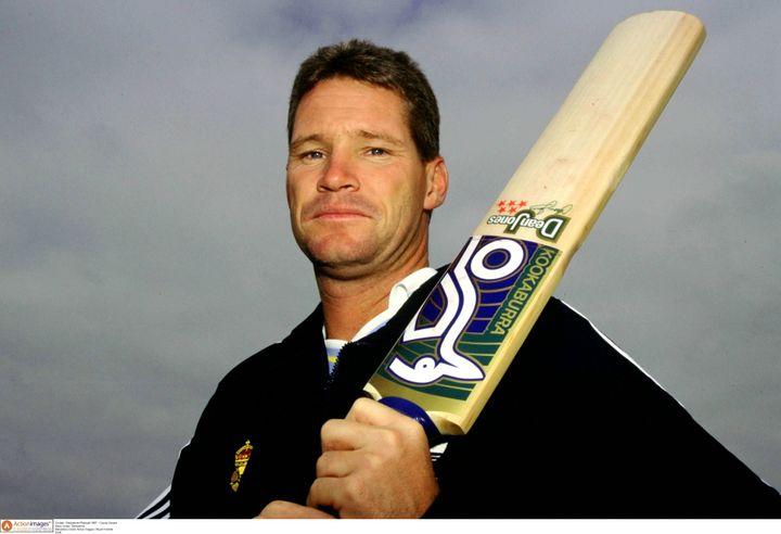 Former Australia batsman Dean Jones died of a cardiac arrest on Thursday. (Pictured here in 1997)