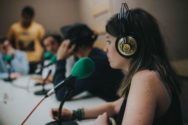 Estudio de radio Universidad