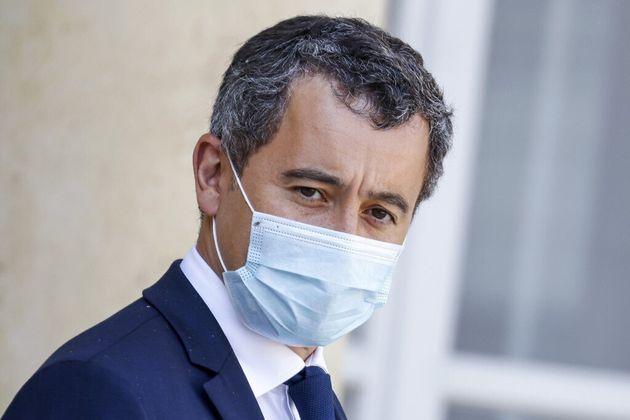 Le ministre de l'Intérieur, Gérald Darmanin, le 16 septembre 2020 à la sortie de