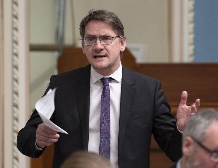 Le député de Jonquière Sylvain Gaudreault.
