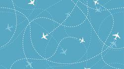 """""""Les 'vols vers nulle part', nouvelle tendance du secteur aérien, encensée par les médias,"""