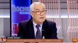 El microbiólogo Emilio Bouza, nombrado portavoz del Grupo Covid-19 en