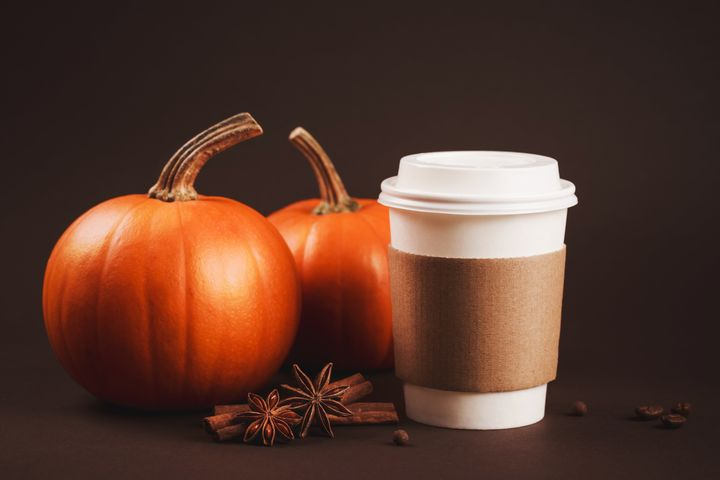 There's actually real pumpkin in the Starbucks PSL, but not enough to make a nutritional impact.